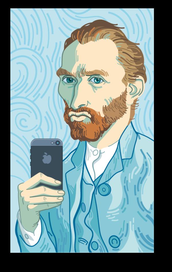 600x949 Selfie Van Gogh By Martinorona
