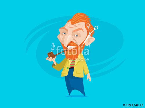 500x375 Van Gogh Caricature Stock Image And Royalty Free Vector Files On
