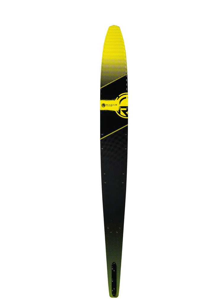 682x1023 Radar Vapor Graphite Water Ski With Vector Boa Bindings 2018