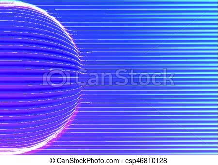 450x340 Neon Lines Background With Glowing 80s New Retro Vapor Wave