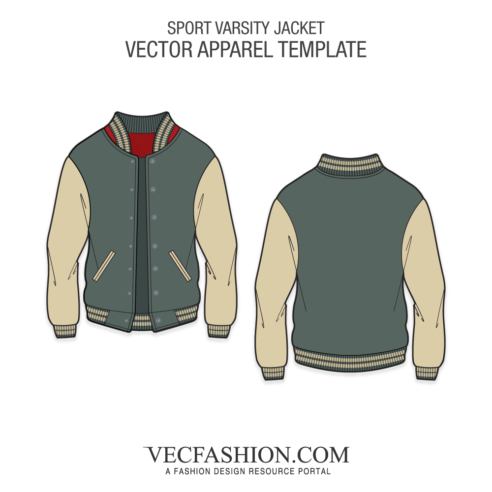 Varsity Jacket Vector At Getdrawings Free For Personal Use