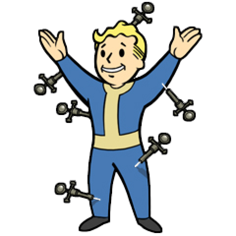 480x480 19 Fallout Vector Vault Boy Huge Freebie! Download For Powerpoint