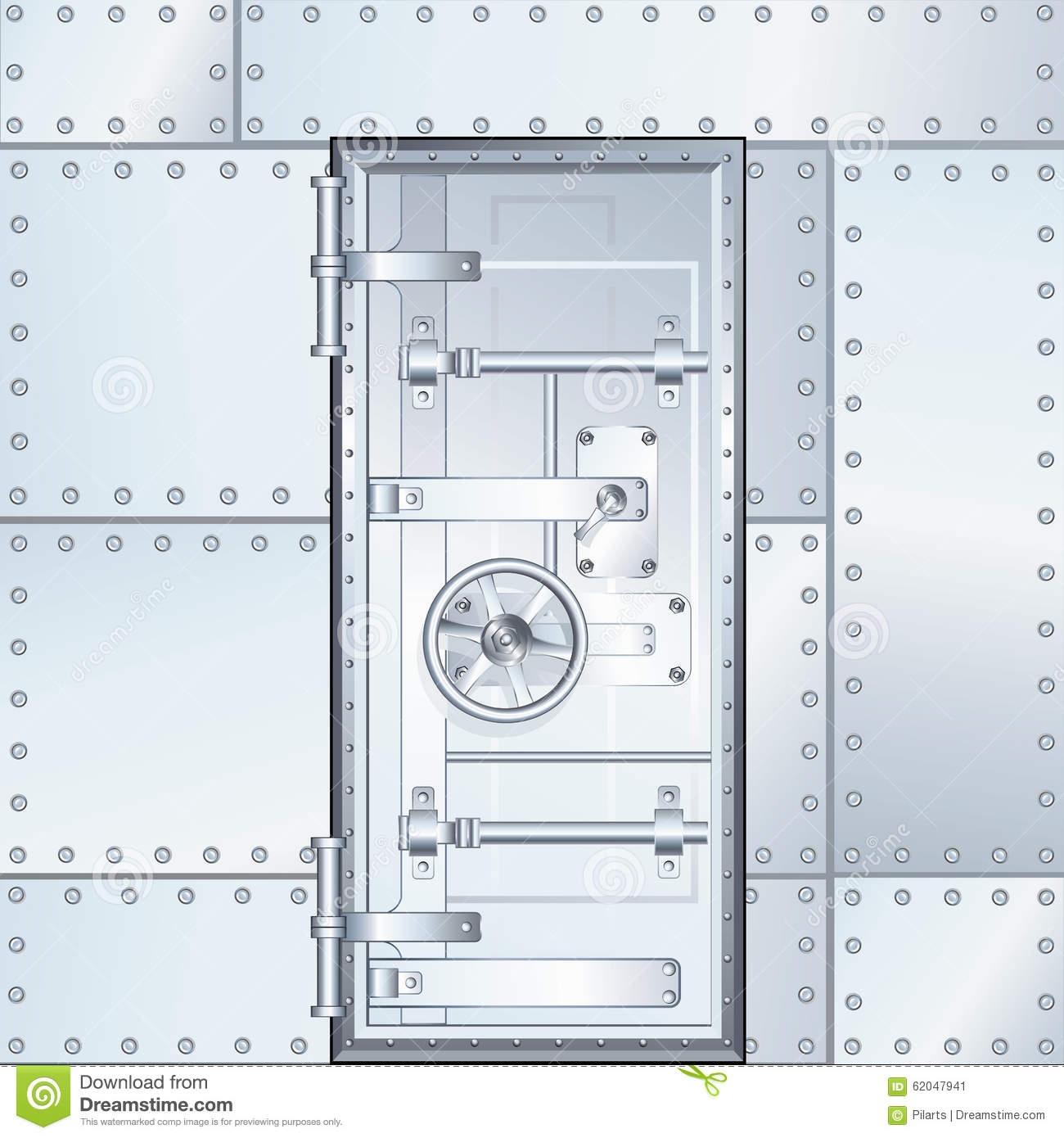 1300x1390 Vault Door Design Vault Door Design Closed Bank Vault Door Vector