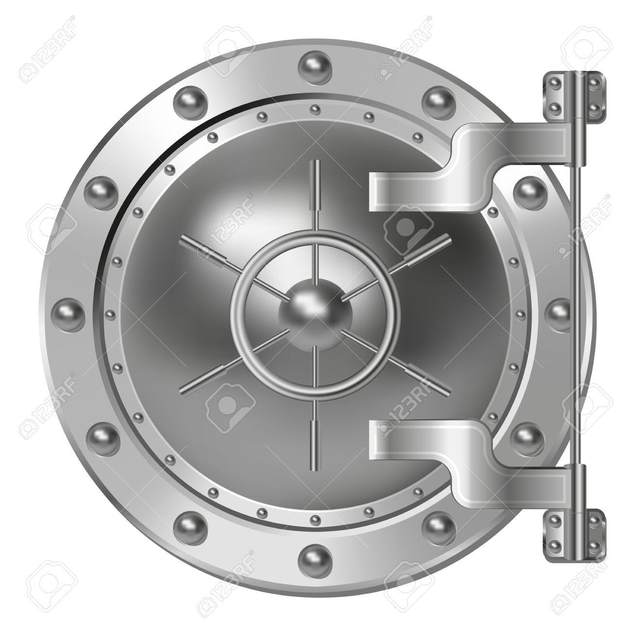 1300x1300 Bank Vault Door Clipart Download