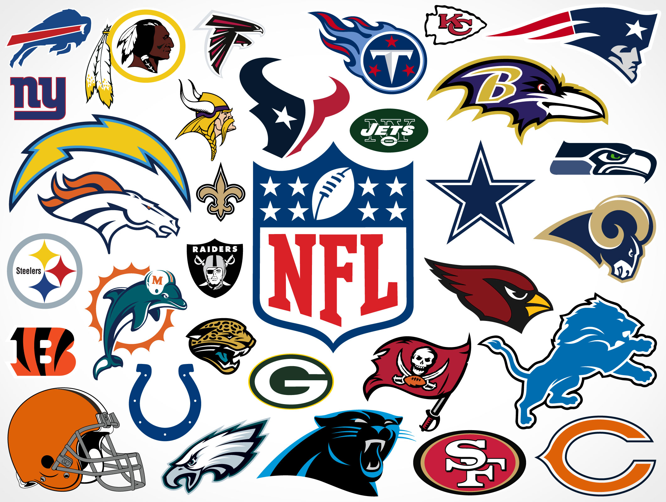 2122x1600 National Football League Team Vector Logos Market Your Psd