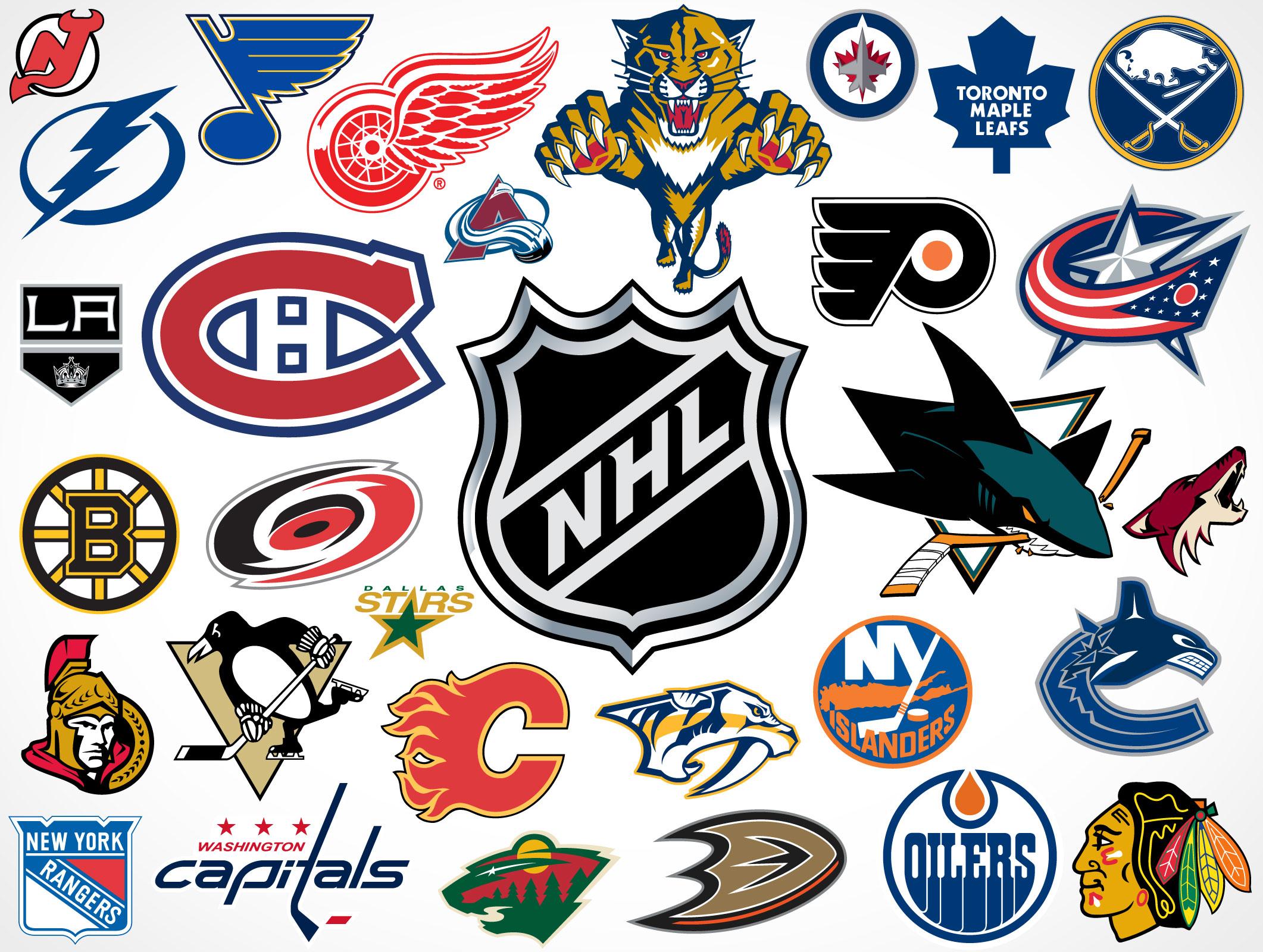 2122x1600 National Hockey League Team Vector Logos Market Your Psd Mockups