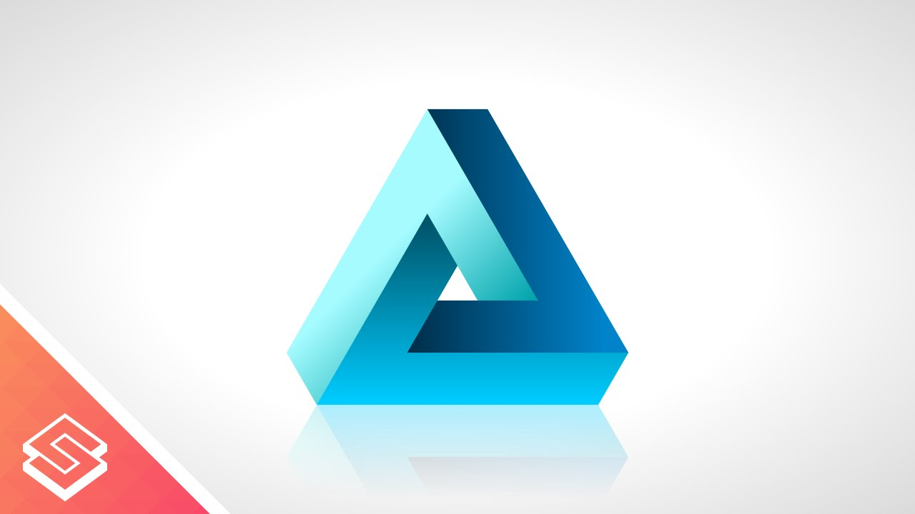 1280x720 Inkscape Tutorial 3d Vector Triangle