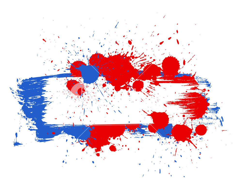 1000x786 Grunge Banner 4th Of July Vector Theme Design Royalty Free Stock