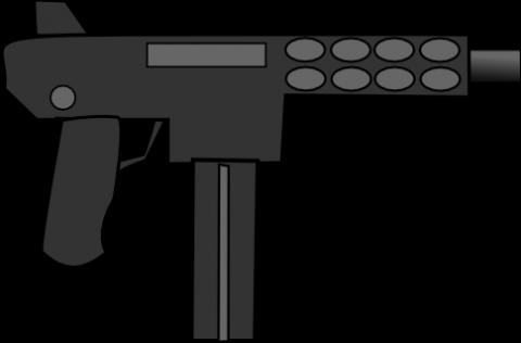 480x316 Kg 9 Machine Gun Free Vector Svg Vectorstash
