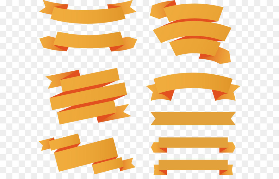 900x580 Paper Ribbon Web Banner Euclidean Vector