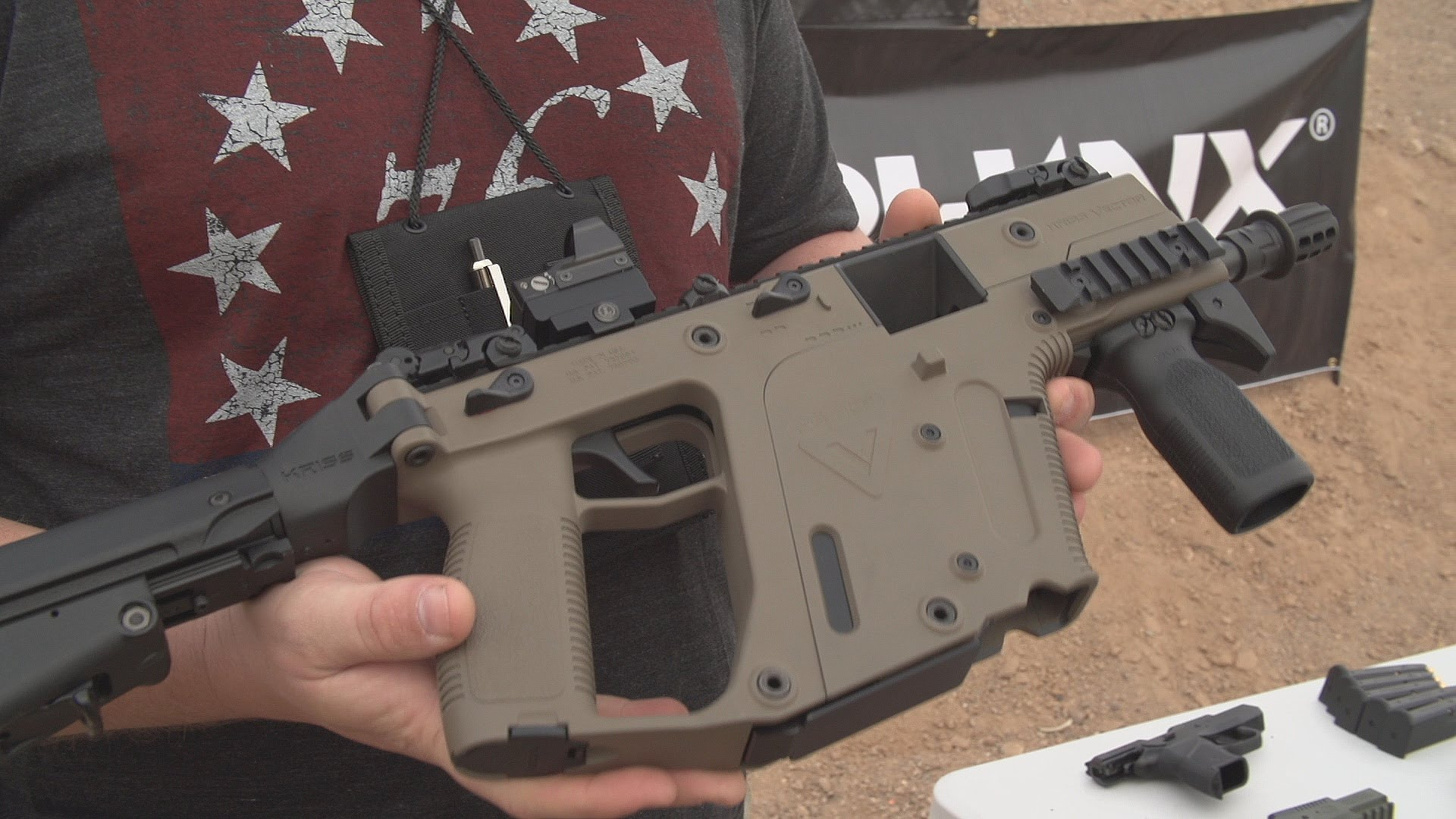 1920x1080 Shot Show 2015 9mm Kriss Vector
