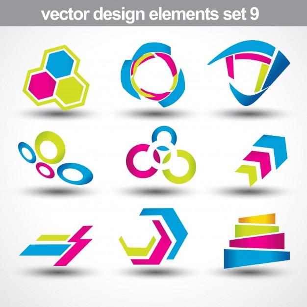 626x626 Design Elements Set 9 Vector Free Download