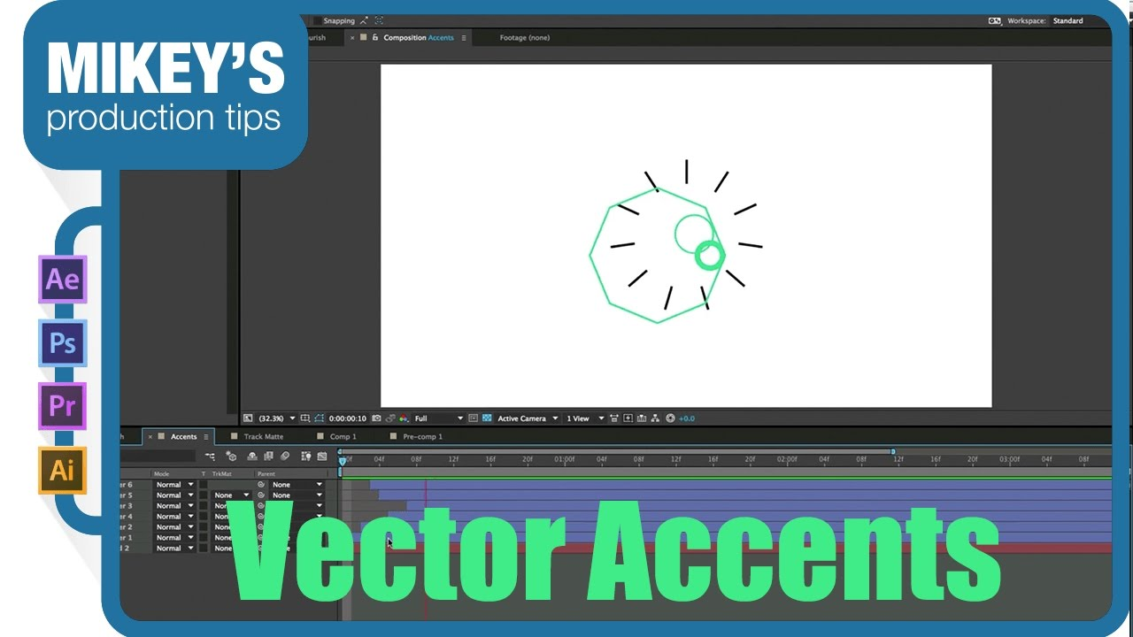 1280x720 Vector Accents After Effects Tutorial