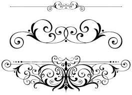 264x191 Fancy Scrolls Scrollwork Clipart Vector Fretwork Swirls Accents