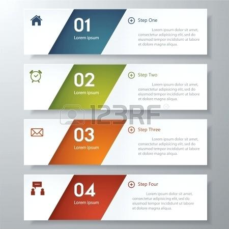 450x450 Design Clean Number Banners Template Graphic Or Website Layout