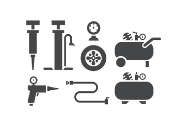 352x247 Air Pump And Compressor Accessories Icons Free Vector Download