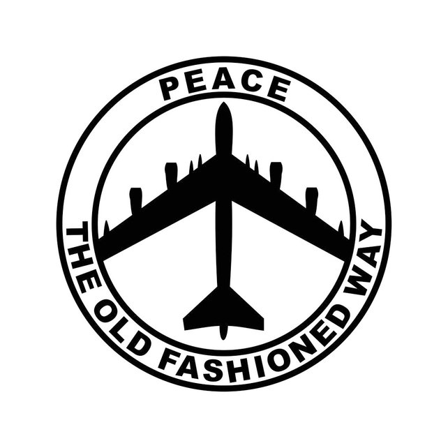 642x642 B 52 Peace Air Force Svg Cricut Silhouette Dxf Eps Png Cdr Ai Etsy
