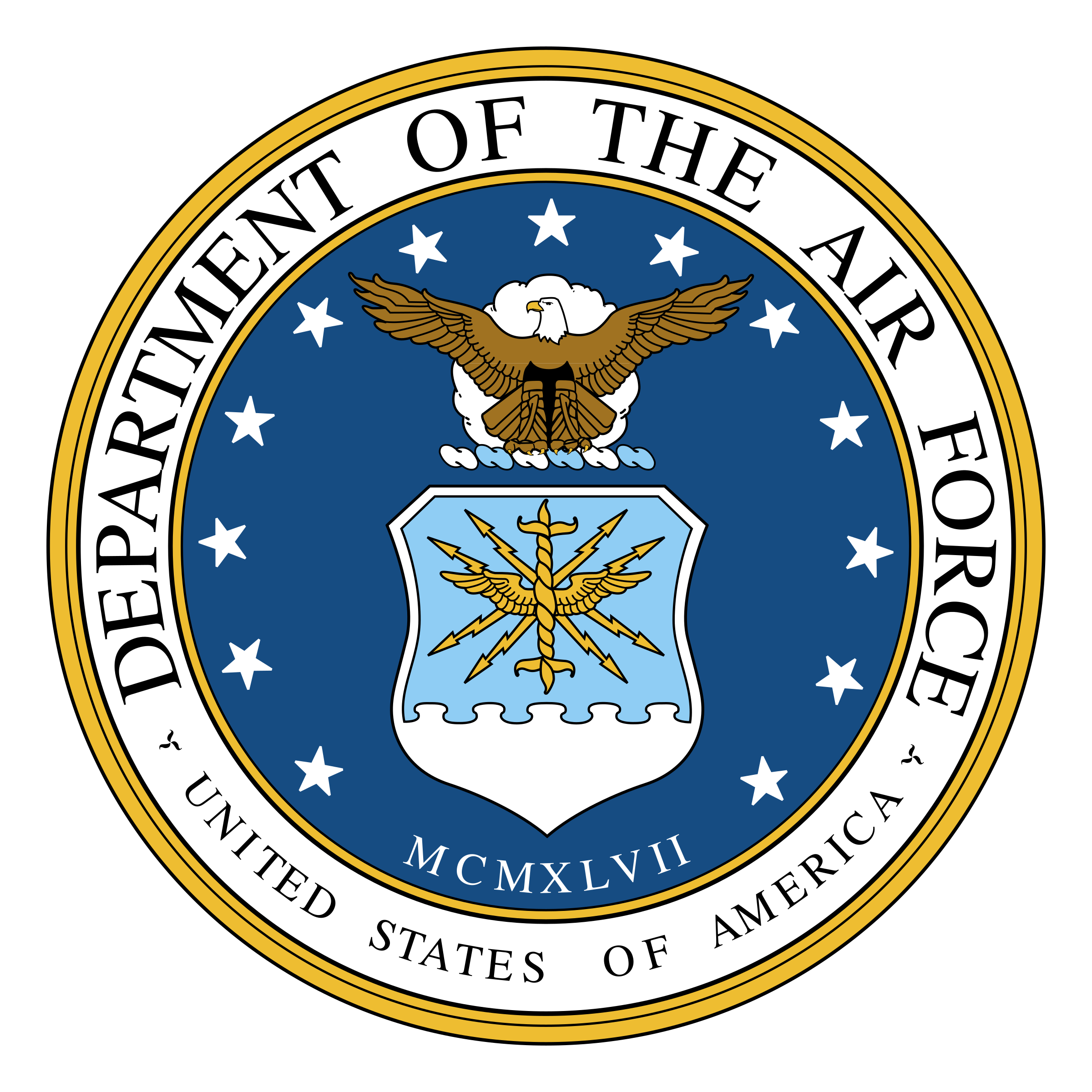 2400x2400 Department Of The Air Force Logo Png Transparent Amp Svg Vector
