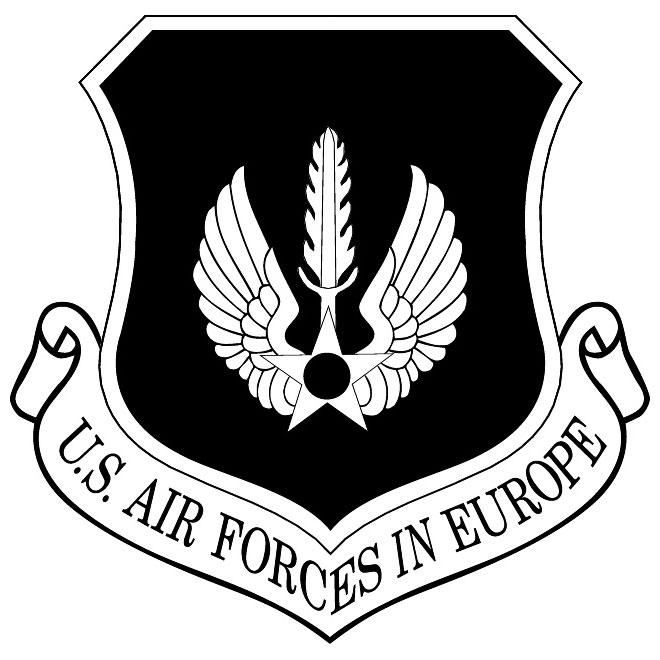 660x660 Air Forces Europe Vector Emblem