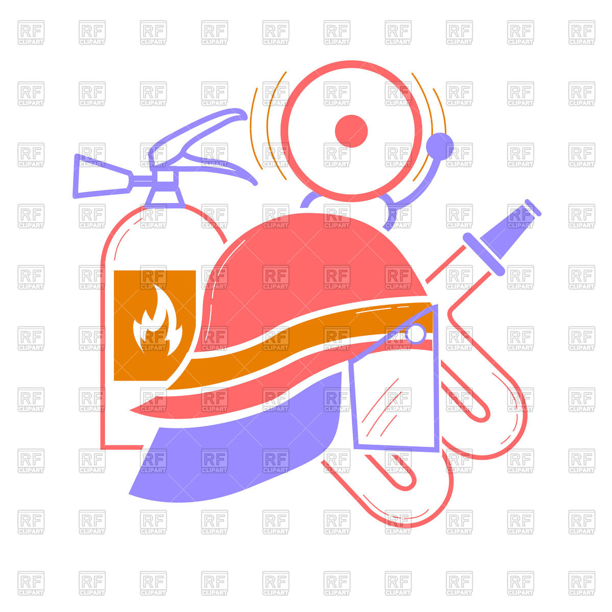 1200x1200 Icon Of Fireman Elements