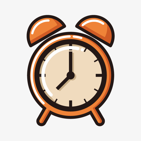 595x595 Vector Orange Alarm, Orange Vector, Orange Alarm, Vector Alarm Png