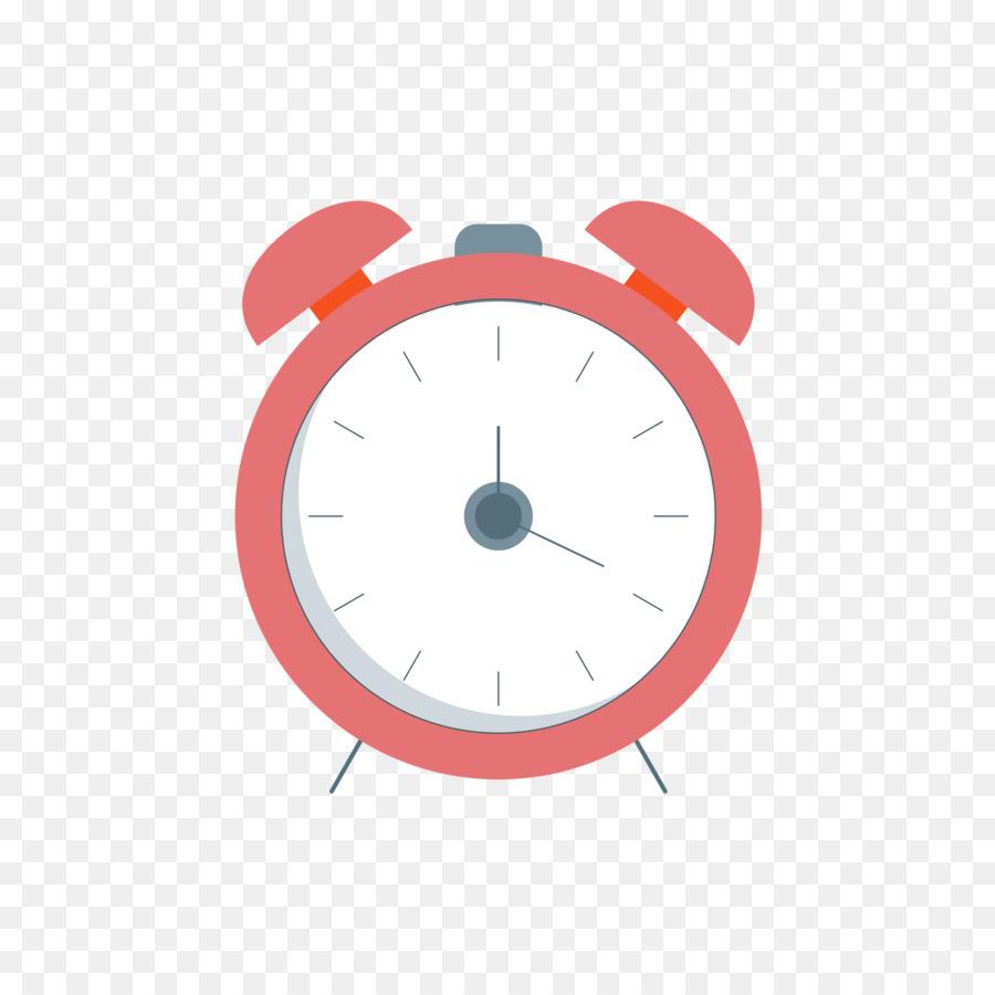 900x900 Alarm Clock Euclidean Vector Alarm Device Red