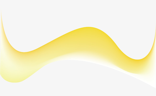 650x400 Yellow Curve Decoration Vector, Curve Vector, Decoration Vector