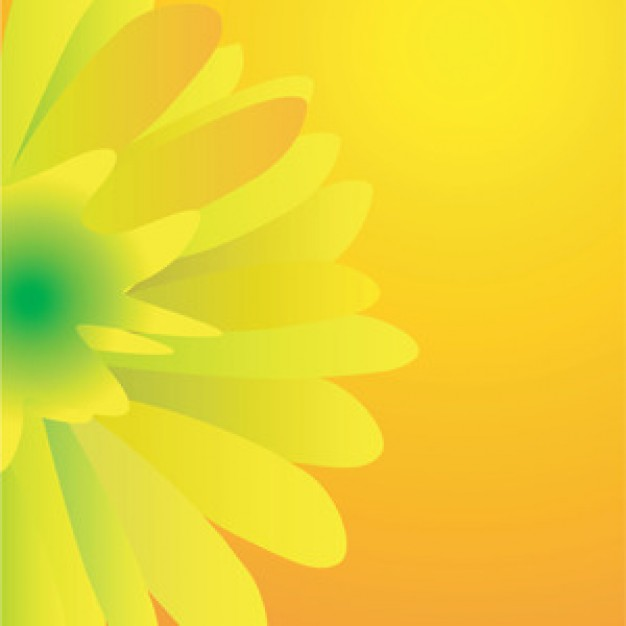 626x626 Yellow Vector Flover Vector Free Download