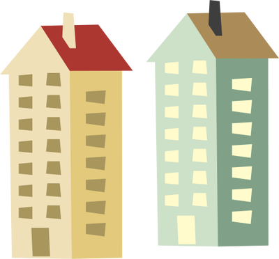 400x372 Collection Of Free Home Vector Apartment. Download On Ubisafe