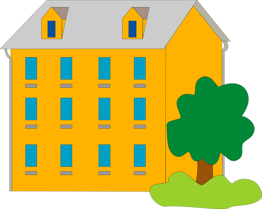 905x720 Collection Of Free Vector Apartments Art. Download On Ubisafe