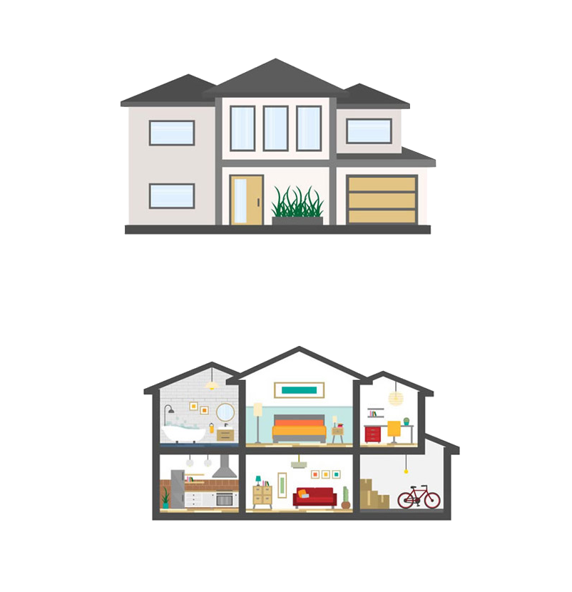 802x830 Collection Of Free Vector Apartments Home Improvement. Download On