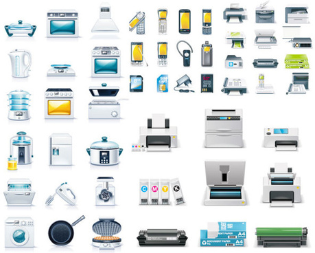 459x368 Home Appliances Icons Free Vector Download (23,938 Free Vector