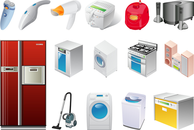 800x534 The Two Appliances Vector