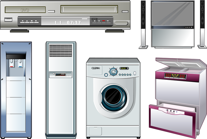 800x538 Vector Of Household Appliances