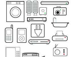274x201 Free Vector Appliance Icons Clipart And Vector Graphics