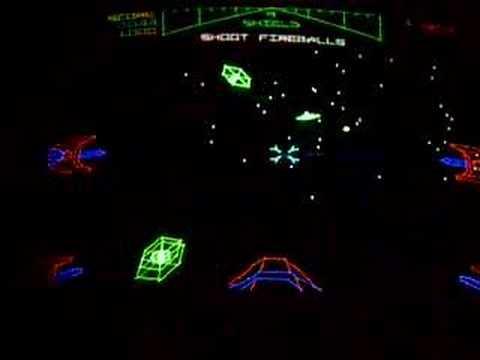 480x360 Atari Star Wars Arcade Game Upright Classic Vector Game 1983
