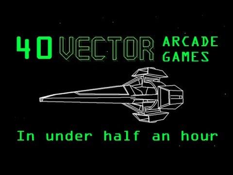 480x360 40 Vector Arcade Games In Under 30 Minutes