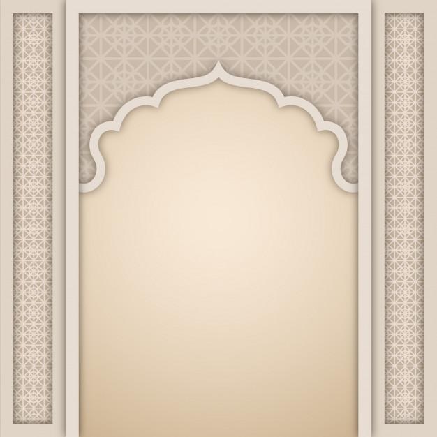 626x626 Islamic Arch Design Template Vector Premium Download