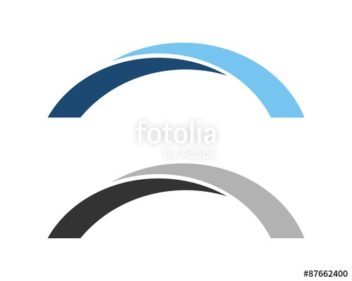 500x400 Arch Bridge Logo Stock Image And Royalty Free Vector Files On