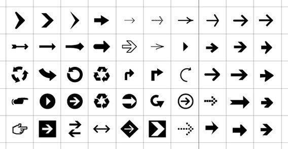 568x294 Arrows Symbols Amp Icons Vector 123freevectors