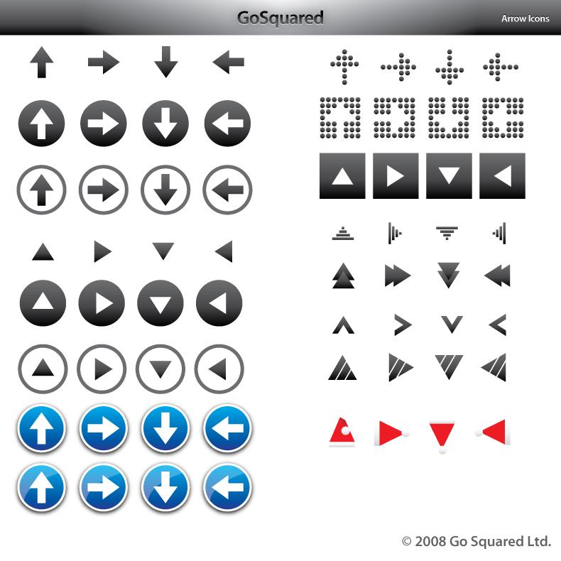 790x790 64 Vector Arrow Icons