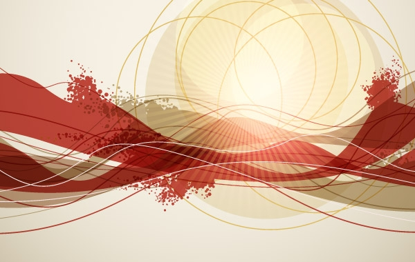 600x380 Abstract Background Vector Art Vector Free Download