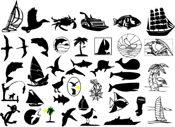 592x431 Free Nautical Marine Sign Vector Graphics Clip Art How To