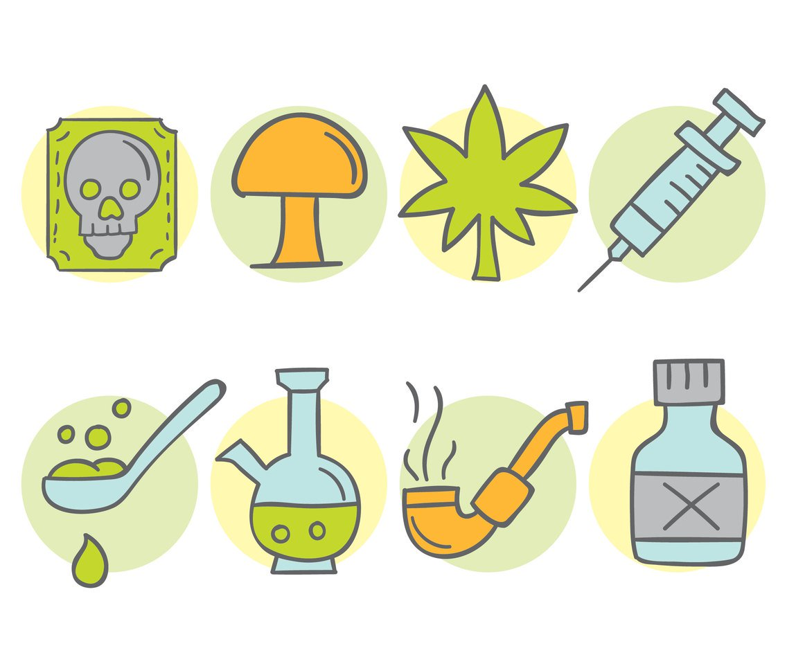 1136x936 Hand Drawn Drugs Collection Vectors Vector Art Amp Graphics