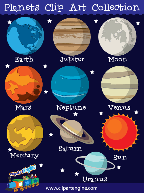500x667 Our Planets Clip Art Collection Is A Set Of Royalty Free Vector
