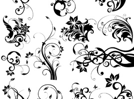 270x200 Free Floral Decorative