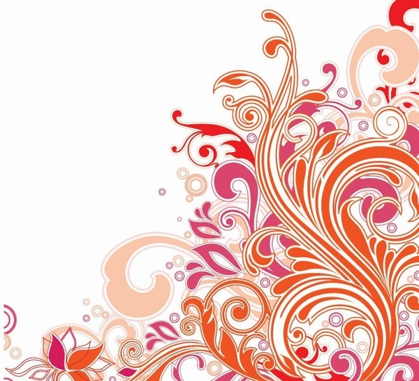 600x546 Swirl Floral Design Vector Art Free Vector In Encapsulated