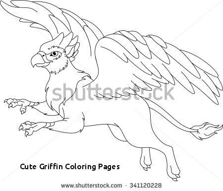450x385 Cute Griffin Coloring Pages Lion Coloring