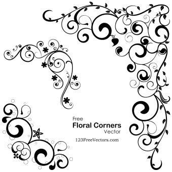 340x340 Decorative Floral Vectors Download Free Vector Art