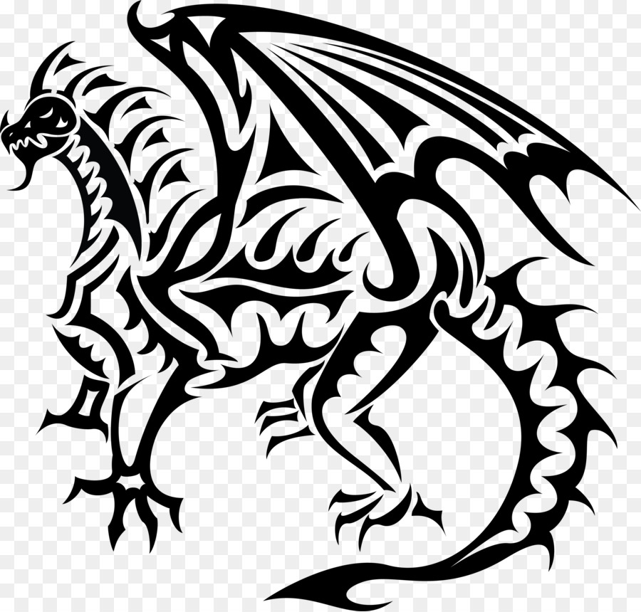 900x860 Dragon Clip Art